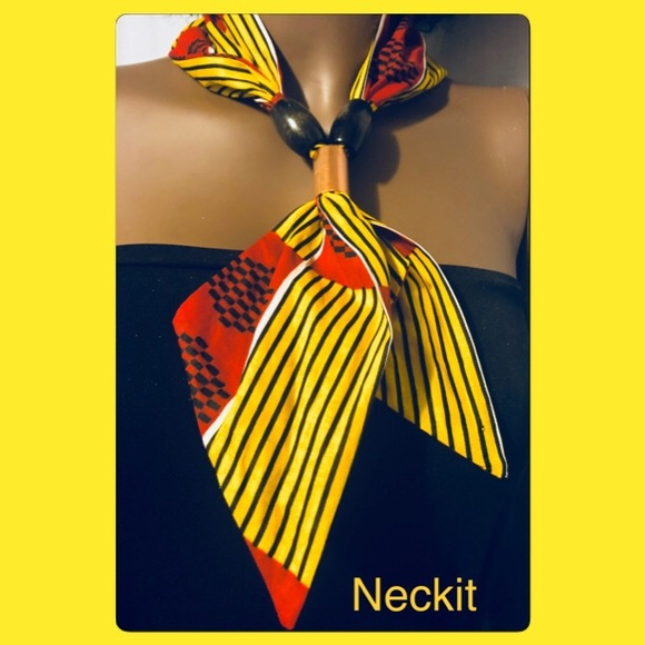 Handmade African Print Scarf